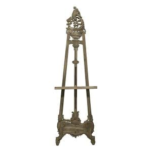 French Gray Floor Easel