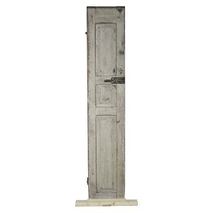 Shutter - Circa 1800's Distressed Off White
