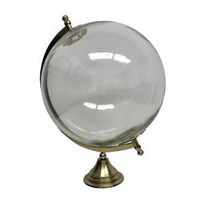 Brass & Glass Globe