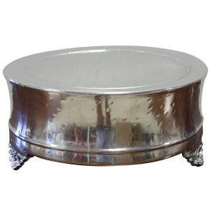 Edita - Silver Cake Stand (Medium)