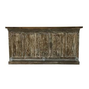 Duran Rustic Wood Bar
