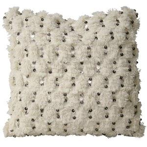 Nadia Wedding Pillows - Creme