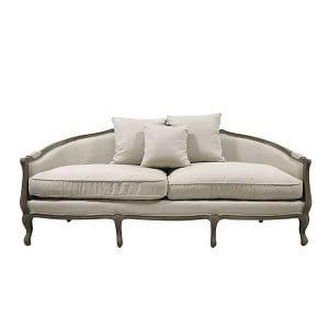 Augusta Linen Sofa