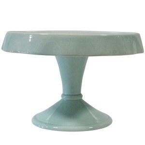 Sea Foam Blue Cake Stand