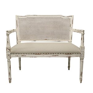 Bridgette French Bench w/Arms
