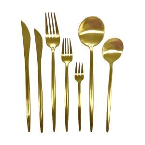 Aurum Gold Flatware Set