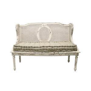Upholstered Gallery White Glove