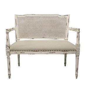 Bridgette French Bench w/Arms