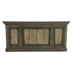 Francine Wooden Bar