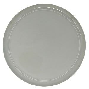 Liz  Grey Dinner Plate
