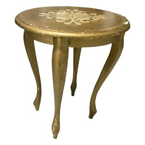 Florentine Side Table- Round