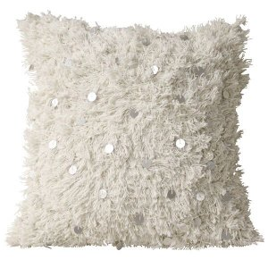 Wedding Blanket Pillow- White