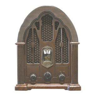 Vintage GE Cathedral Radio