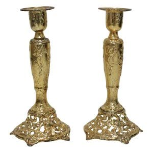 Felicia Gold Candlesticks