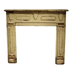 Vintage Ivory Mantle