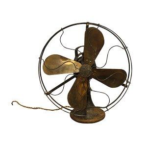 GE Brass Blade Large Fan