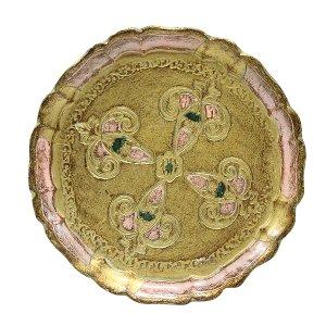 Petria - Petite Round Florentine Tray