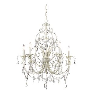 Antique White Chandelier