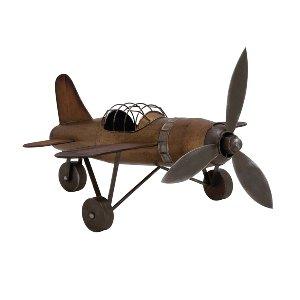 Rustic Metal Plane
