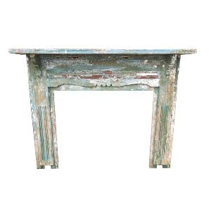 Vintage Green/Blue Mantel