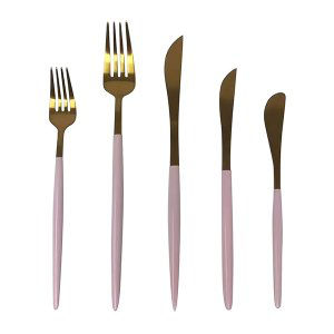 Bloom (Pink) Flatware Collection