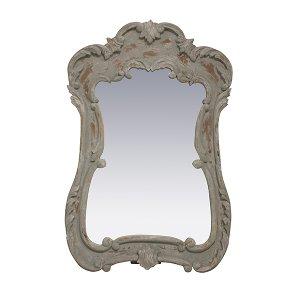 Vanna - Gray Venetian Mirror