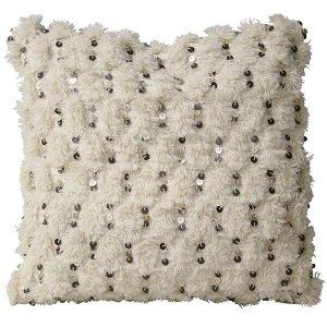 Nadia Wedding Pillows - Creme