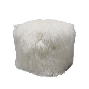 White Pouf