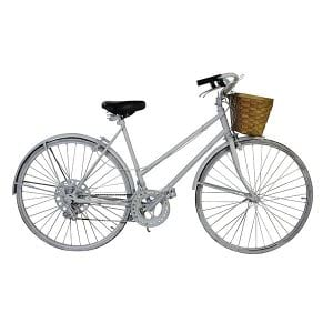 White Vintage Bike - Women's