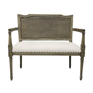 Genivee - French Bench w/ Arms