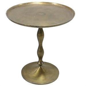 Stevenson Brass Side Table
