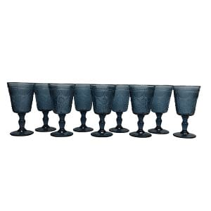 Cornflower Blue Belle Goblet