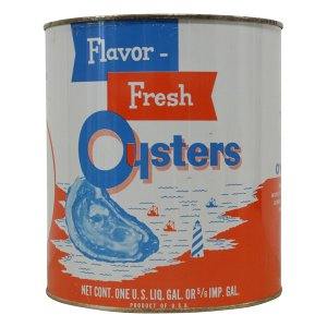 Flavor Oyster Cans