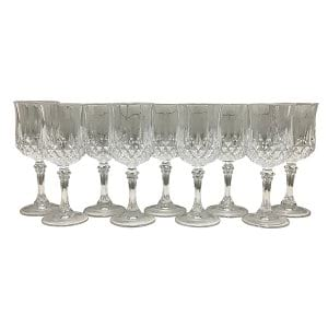 Cut Crystal Goblet-Medium