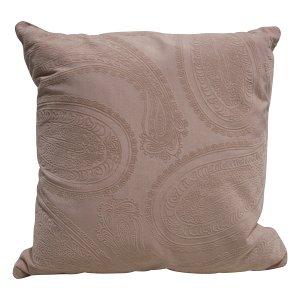 Pink Paisley Pillow