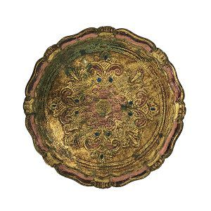 Gean - Round Florentine Tray