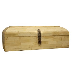 Ivory & Wood Jewelry Box