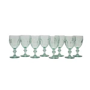 Vintage Mint Green Glassware
