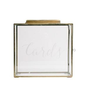 Brass (Large) Card Box