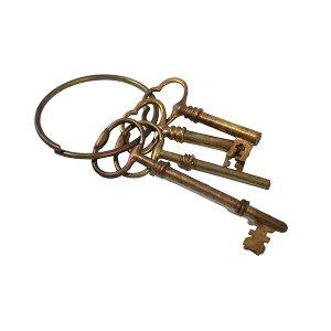 Bronze Skeleton Keys