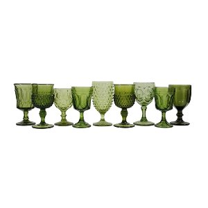 Green Glassware Mix