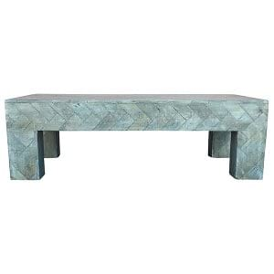 Cassie Chevron Coffee Table
