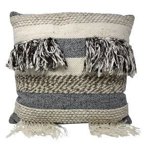 Jute and Crotchet Pillow
