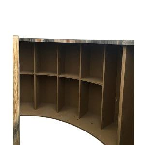 Proctor Wood Circular Bar Gallery White Glove