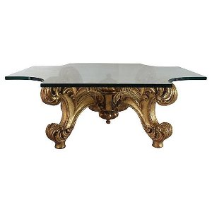 Plume Gold Coffee Table