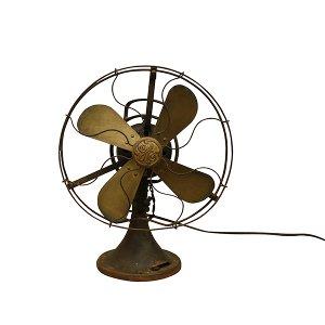 GE Brass Blade Medium Fan