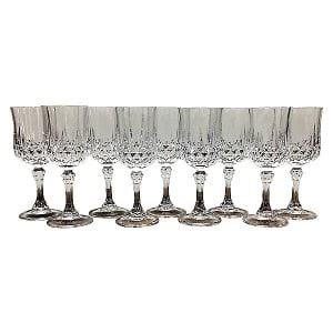 Cut Crystal Goblet-Large