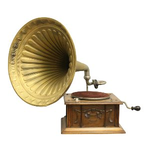Large Vintage Gramophone
