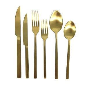 Gold 1800 Flatware Setting