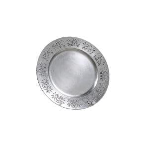 Silver Dye-Cut Chargers